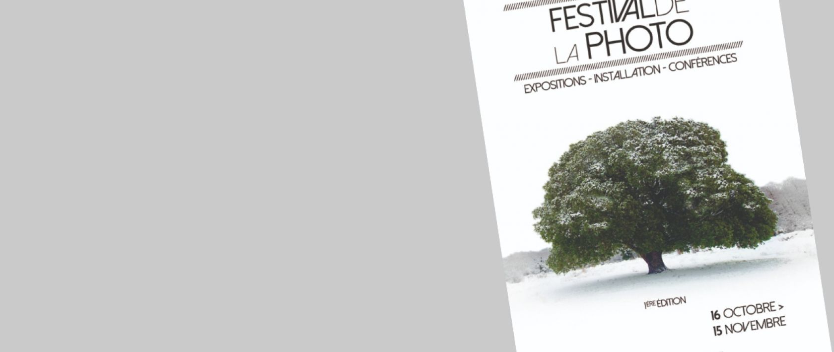1ère édition - Festival de la photo