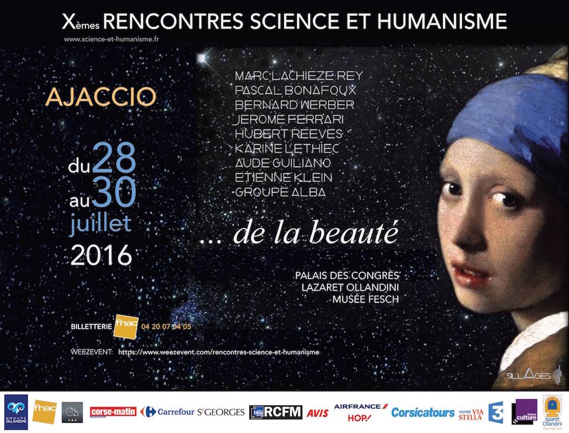 Rencontre science et humanisme 2016
