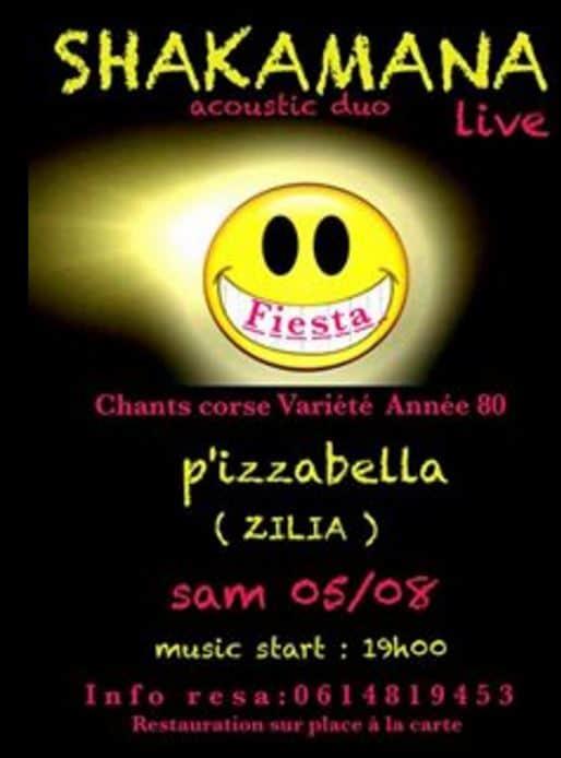SHAKAMANA Chez P'izzabella