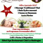 Offre Spéciale ZEN* au Centre Spa La Madrague