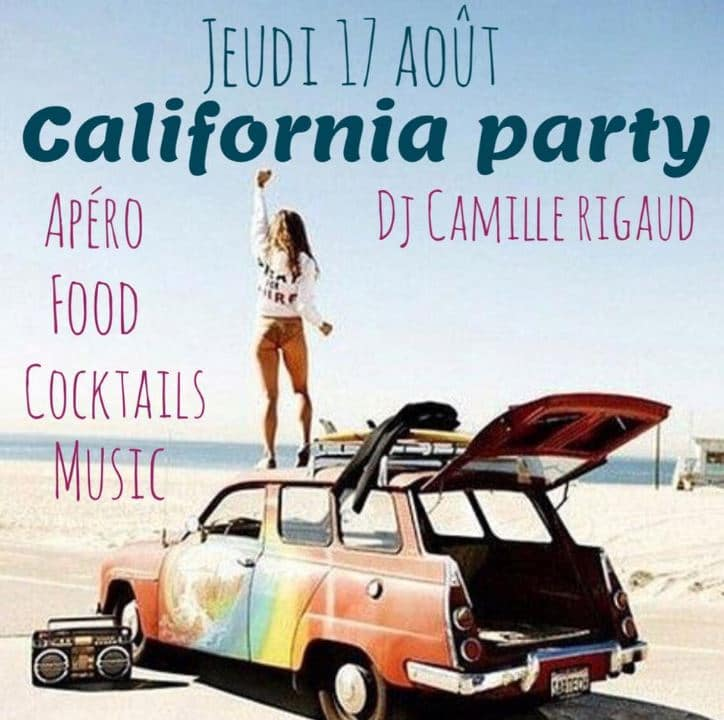 California Party au Little Capo Ajaccio