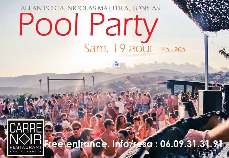 Pool Party au Carré Noir