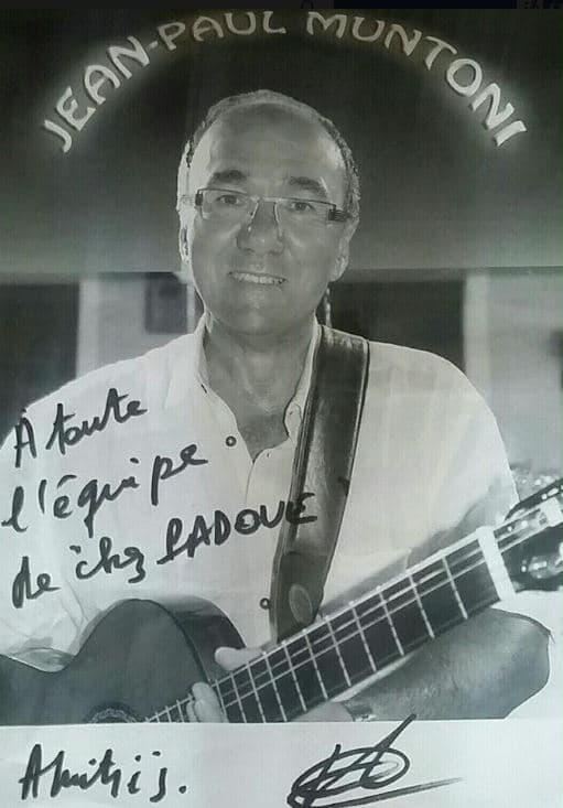 Soirée avec Jean -Paul Muntoni et son accordéoniste Chez Padoue