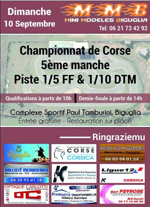 5° manche du Championnat de Corse de voitures radio-commandées
