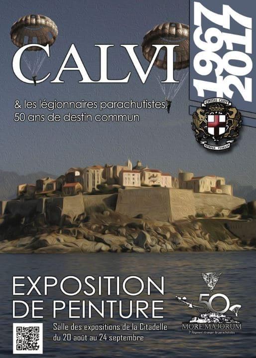 Aubade pour la Saint Michel et les 50 ans du 2 REP à CALVI