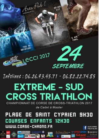 CHAMPIONNAT DE CORSE DE CROSS TRIATHLON