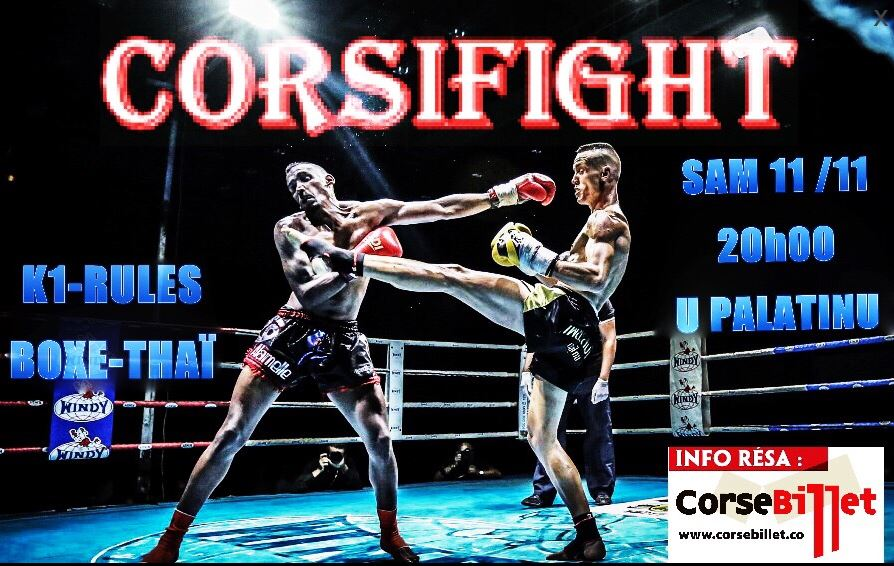 CORSIFIGHT 1° ÉDITION