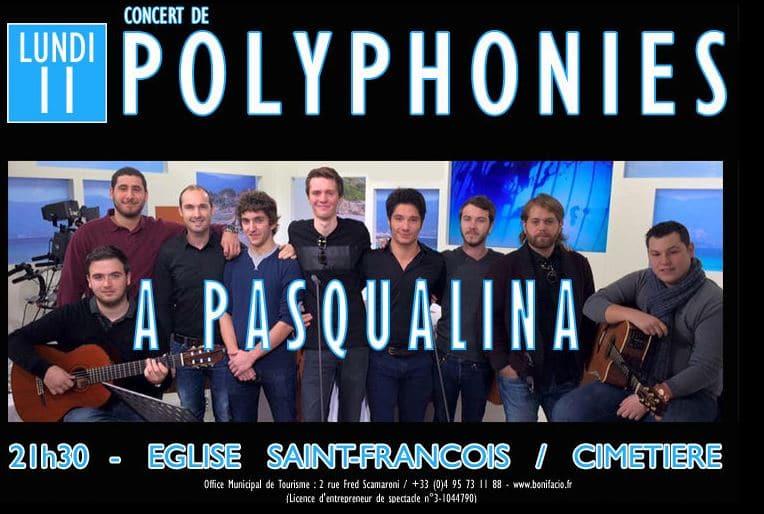 Concert du groupe A Pasqualina