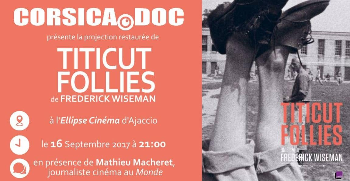 Projection de Titicut Follies à Ajaccio