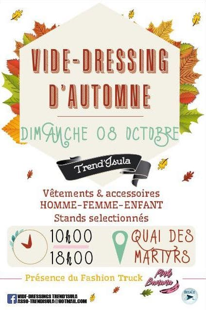VIDE DRESSING D'AUTOMNE TREND'ISULA