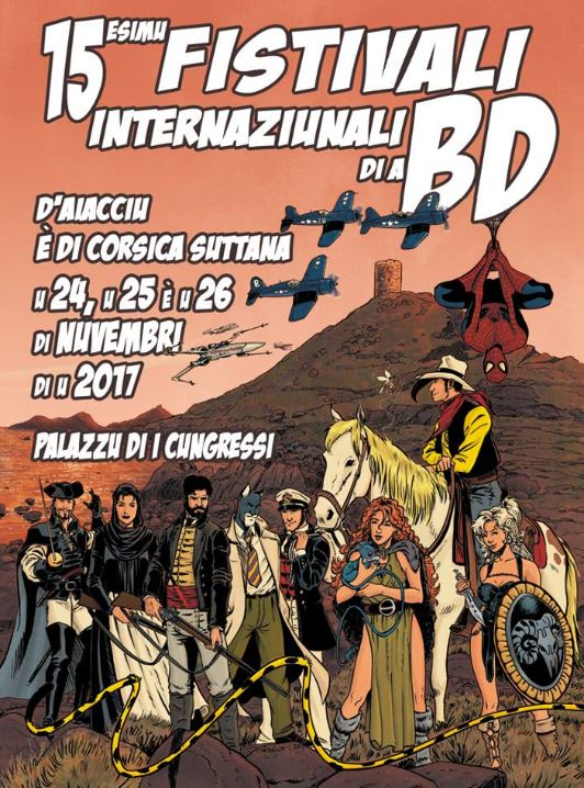 15° Festival International de la BD d'Ajaccio