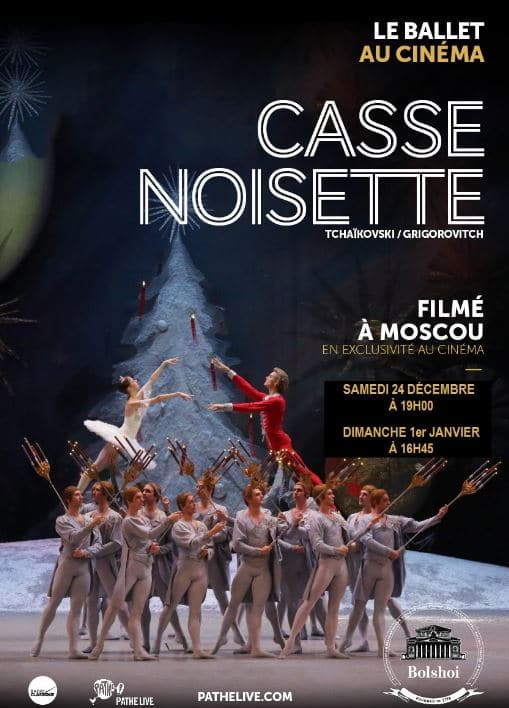 Casse-Noisette en direct du Bolchoï