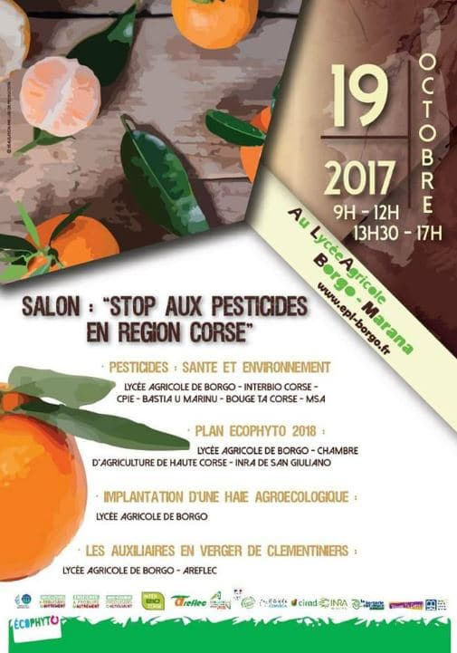 Salon : stop aux pesticides en Corse