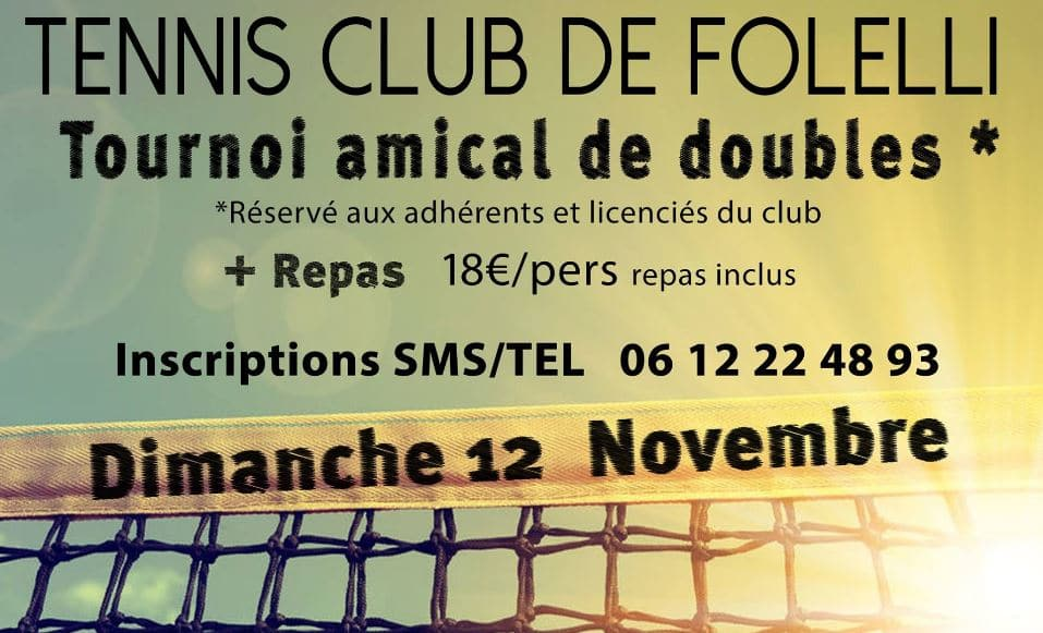 Tournoi amical de doubles