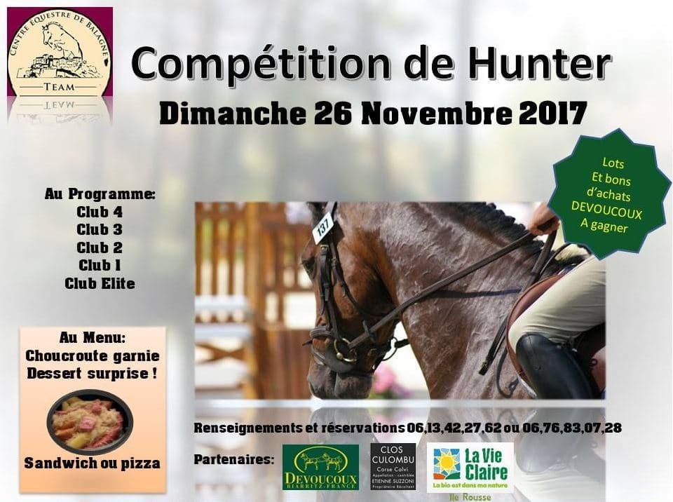 Compétition de Hunter