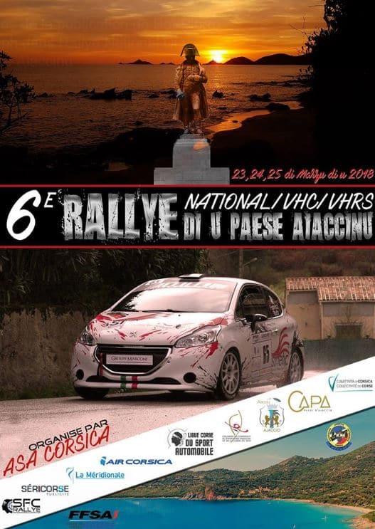 6° Rallye National Di u Paese Aiaccinu