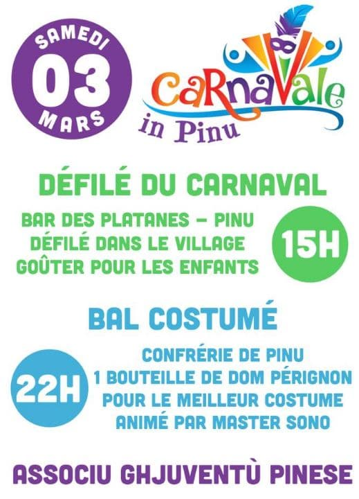 2° édition de Carnavale in Pinu