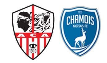 AC AJACCIO - CHAMOIS NIORTAIS FC