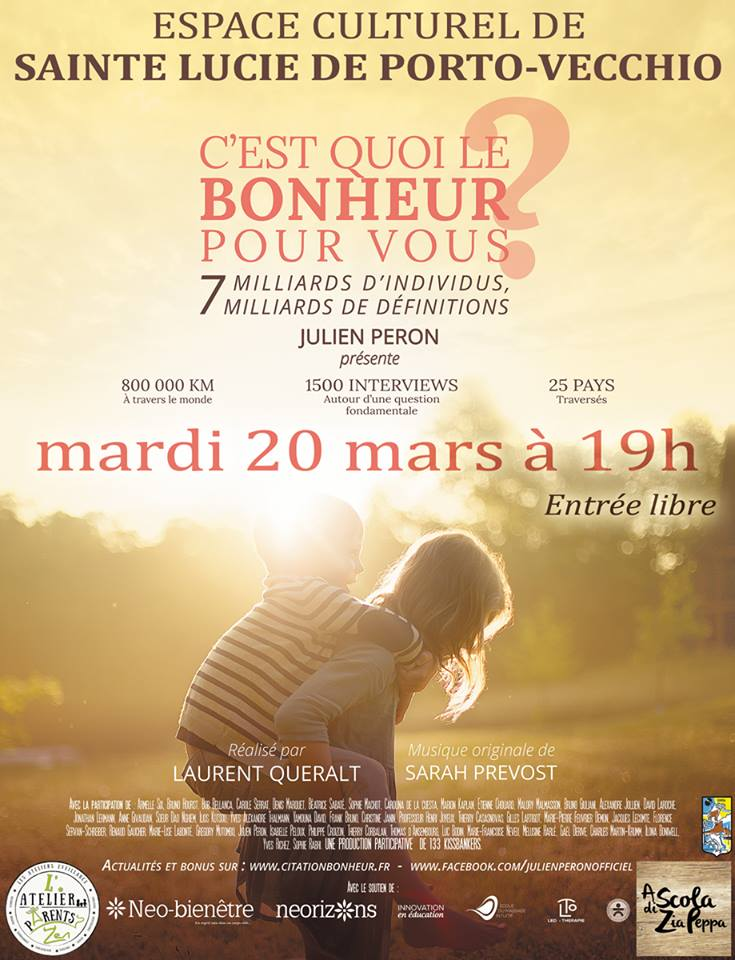 PROJECTION DU FILM « C'EST QUOI LE BONHEUR »