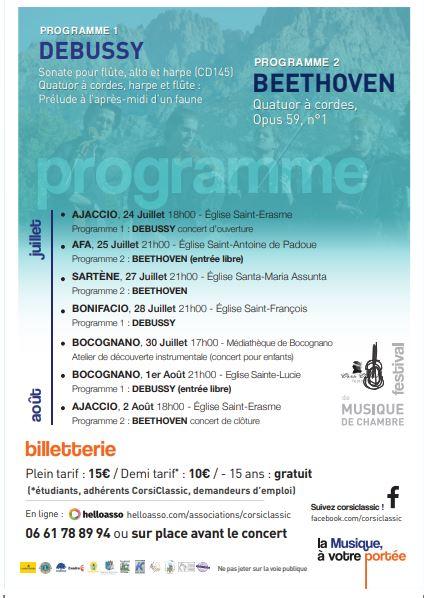 Programme Corsiclassic