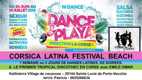 Corsica Latina Festival Beach