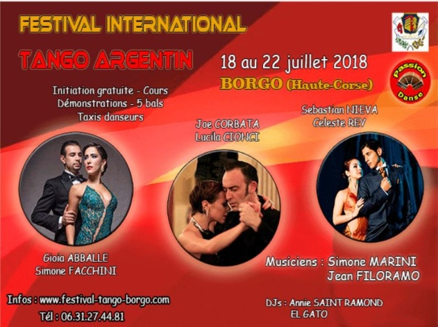 Festival international de tango argentin